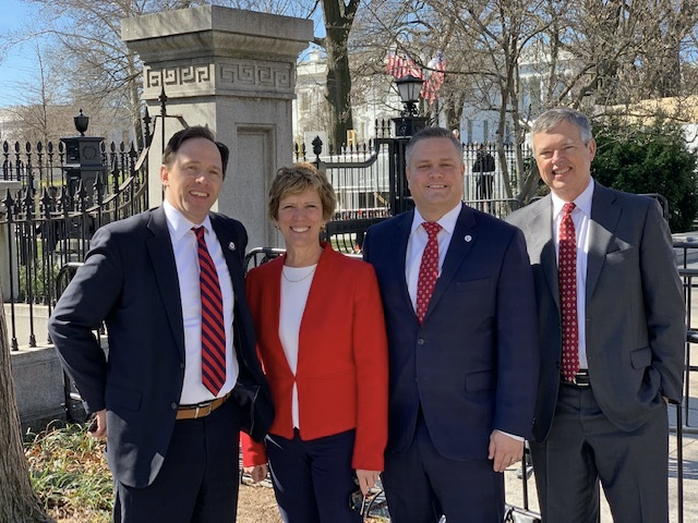 Caris Healthcare founder meets with COVID 19 task force